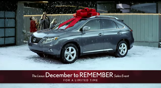What is the Actual Cost of Lexus' Red Gift Bow?